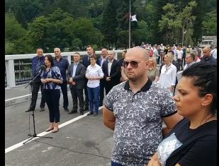 mOST10 - U Prijepolju otvoren most u Šarampovu ,a zatvorena deponija Stanjevine