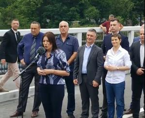 mOST6 - U Prijepolju otvoren most u Šarampovu ,a zatvorena deponija Stanjevine