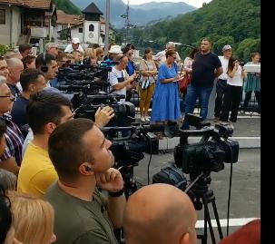 mOST9 - U Prijepolju otvoren most u Šarampovu ,a zatvorena deponija Stanjevine